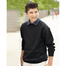 JERZEES - NuBlend Youth Crewneck Sweatshirt - 562BR