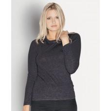 Bella - Missy Long Sleeve Crew Neck T-Shirt - 6450