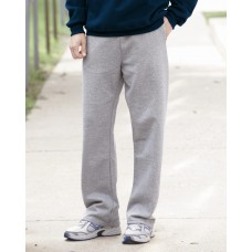 JERZEES - NuBlend Open Bottom Pocketed Sweatpants - 974MP