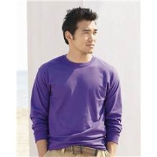 Hanes - TAGLESS Long Sleeve T-Shirt - 5586